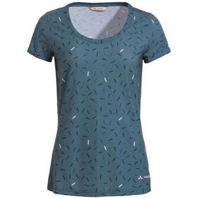 VAUDE Skomer AOP T-Shirt Women, blu